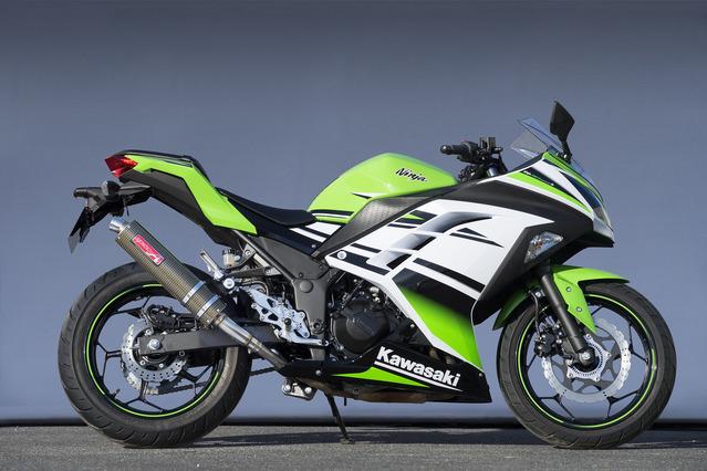 Ninja250 SUS SLIP-ON