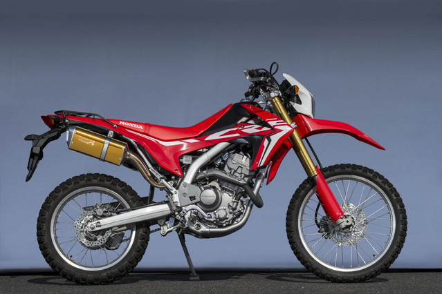 CRF250L SUS SLIP-ON TYPE-SA ゴールド