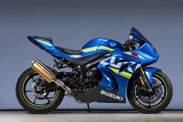 GSX-R1000R SLIP-ON TYPE-S ゴールド