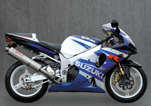 GSX-R1000 チタン SLIP-ON UP-TYPE