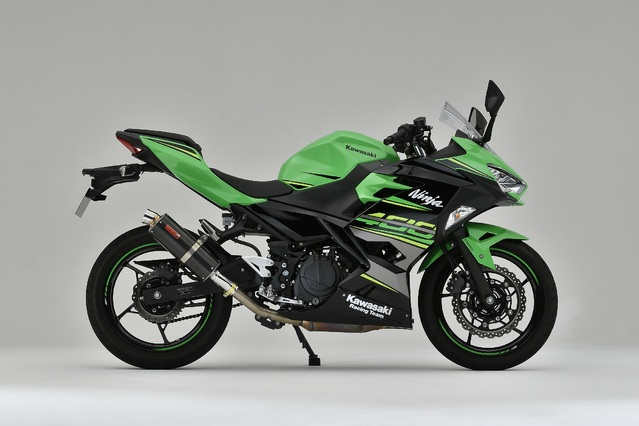 18~Ninja400 SLIP-ON カーボン