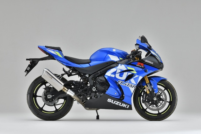 GSX-R1000R SLIP-ON TYPE-SA 認証