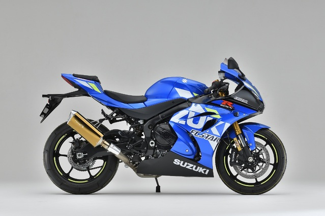 GSX-R1000R SLIP-ON  TYPE-SA ゴールド 認証