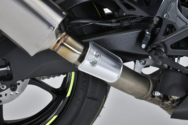 GSX-R1000R SPEC-A SLIP-ON 専用マフラーカバー