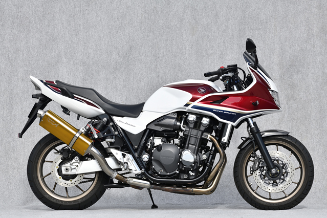 18~CB1300SB/SF SLIP-ON UP-TYPE TYPE-S ゴールド