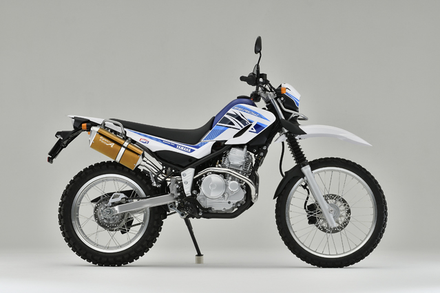 SEROW250 SUS TYPE-SA ゴールド